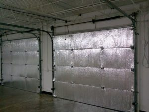 IMP Non Fiberglass Reflective Garage Door