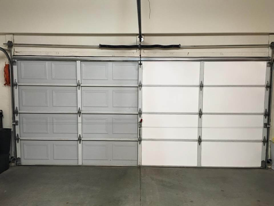 to screen garage panels retractable make how kits panel roll kit a prices door up