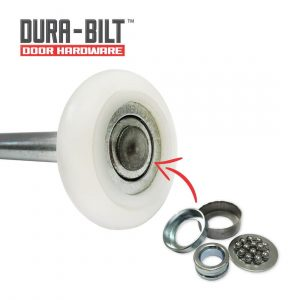 DURA-BILT Ultra-Quiet 2 Nylon Garage Door Roller