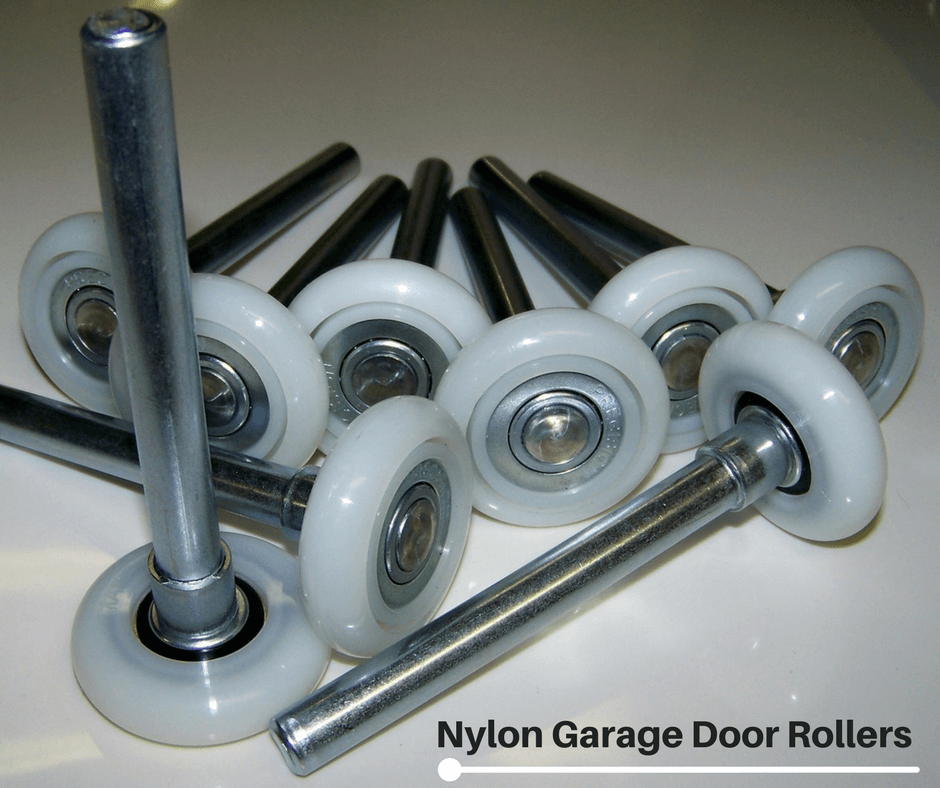 Garage Door Steel Or Nylon Rollers