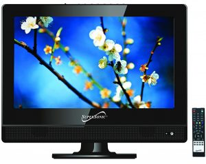 SuperSonic 13.3-Inch HDTV for Garage