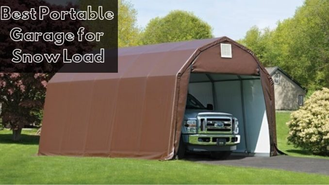 Best Portable Garage for Snow Load: Top Carports for Winter