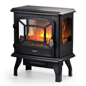 TURBRO Suburbs TS20 1400W Electric Fireplace Wood Stove