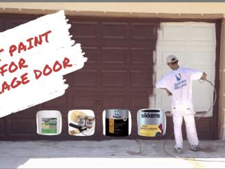 Best Paint for Garage Door