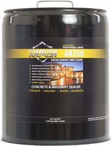 Armor AR350 Solvent Based Concrete Sealer
