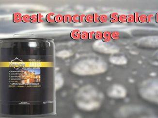 Best Concrete Sealer for Garage