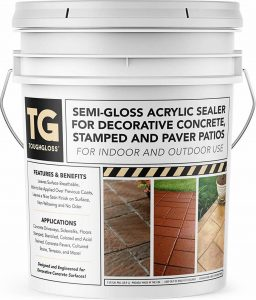 ToughGloss Concrete Sealer For Garage