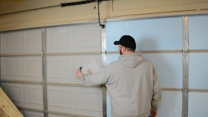 Insulated vs uninsulated garage door