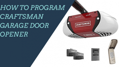 How to Program Craftsman Garage Door Opener