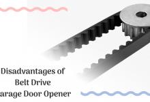 Disadvantages of Belt Drive Garage Door Opener