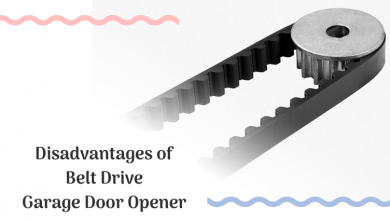 Disadvantages of Belt Drive Garage Door Opener