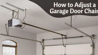 How to Adjust a Garage Door Chain